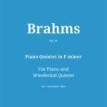 Piano Quintet in F minor, Op. 34 by Johannes Brahms